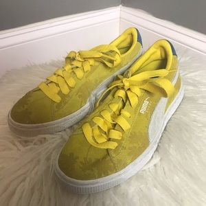 Puma NWOT Woman's Shoes Size 5 Leather Yellow